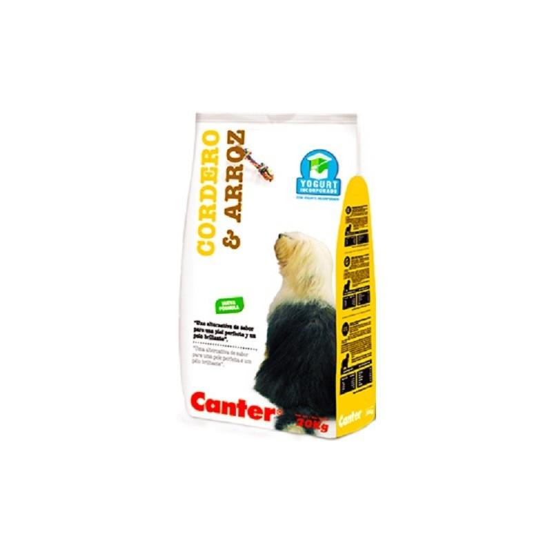 CANTER CORDERO Y ARROZ CON YOGURT - ACC Mascotas